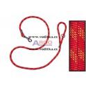 Vodítko z horolezeckého lana délky 200cm (červené)
